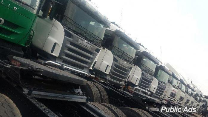 scania for sale at alpha auto group