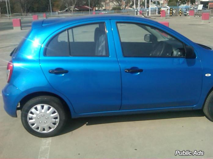 Nissan Micra 1.4 for sale in cheep price for only R65,000 and neg very good condition