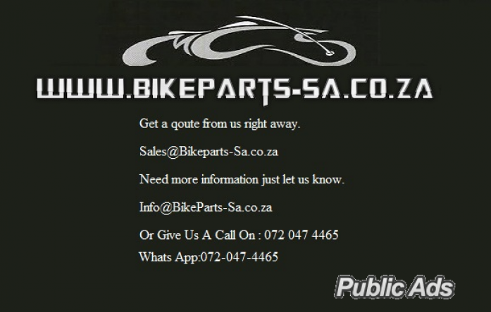 Scooter and chinese bike spares @ Bike Parts-Sa