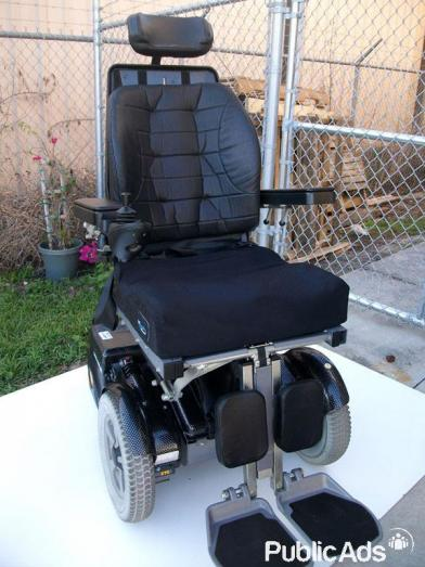 AUTOMATIC ELECTRIC POWERED WHEELCHAIR