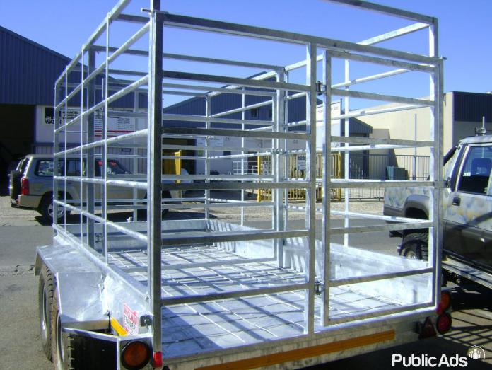 Cattle trailer and sheep trailer available now