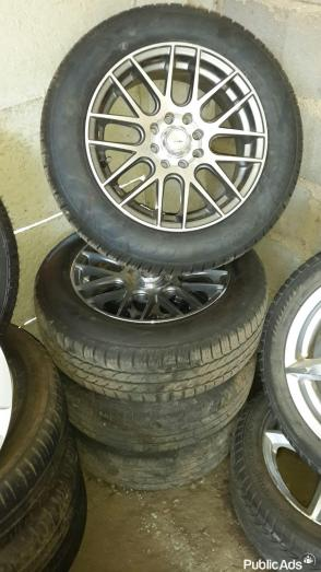 USED RIMS & TYRES