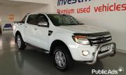 2012 ford Ranger 3.2 XLT 6 Speed 4x2