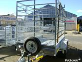3.5m x 1.8m x 1.8m high double axle Cattle Trailer for sale