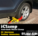 Antitheft Wheel Clamps | Secure Your Car In The Parking Lot