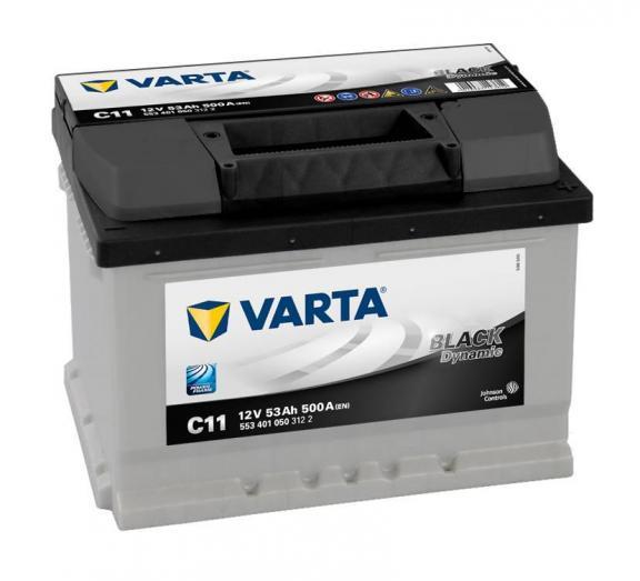Varta C11 / 628 12v 53ah Car Battery - Maiden Electronics Battery Fitment Centre R1254.00