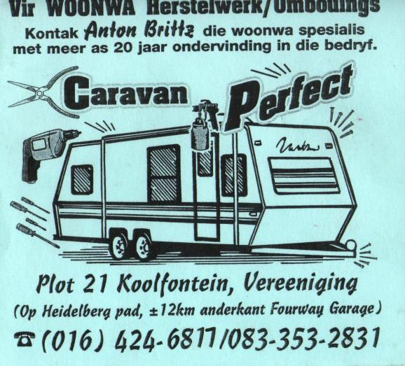 Caravan Service and Repairs - best service and price