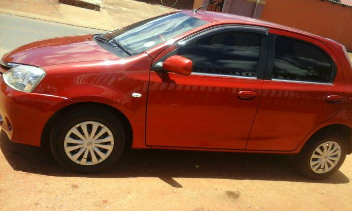 TOYOTA ETIOS 2013 IN GOOD CONDITION FOR SALE R6500