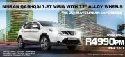 Brand new Nissan Qashqai Promotional pricing
