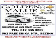 GOLDEN VALUE SERVICE CENTRE