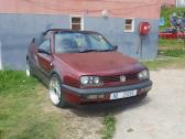 Urgent sale golf 3 cabriolet