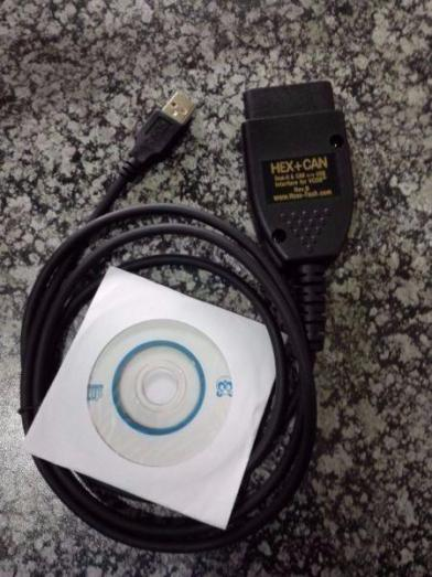 VCDS Diagnostic USB Interface cable. Hex + Can Including Software