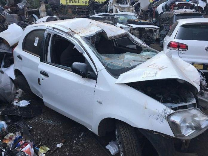 2012 TOYOTA ETIOS STRIPPING FOR SPARES