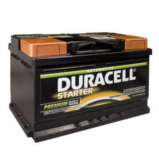 Duracell 652 12v 72ah Car battery - Maiden Electronics Battery Fitment Centre