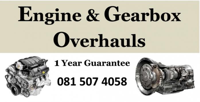 Engines & Gearbox Overhauls