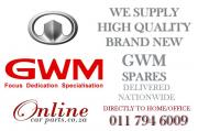 High Quality Affordable GWM Parts - WE DELIVER NATIONWIDE