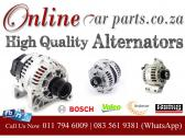 High Quality Alternators and Regulators Bosch Valeo Mitsubishi Denso - We Deliver Nationwide – Doo