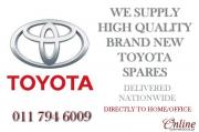 High Quality Toyota Spares Parts - Affordable Parts - WE DELIVER NATIONWIDE - Door to Door