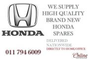 HONDA Spares Parts - Brand New | High Quality | Affordable Prices - Delivered to your Door