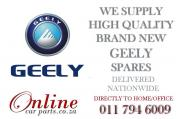 We stock a wide range of GEELY Parts for your vehicle - WE DELIVER NATIONWIDE