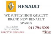 We stock a wide range of Renault Parts for your vehicle - WE DELIVER NATIONWIDE