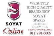 We stock a wide range of SOYAT Parts for your vehicle - WE DELIVER NATIONWIDE