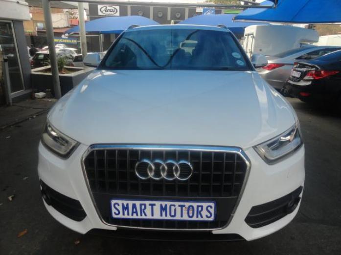 2013 Audi Q3 TDI Automatic White in Colour