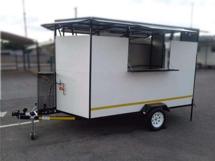 Brand New 2.4 meter Fast Food Trailer - Fully Equipped