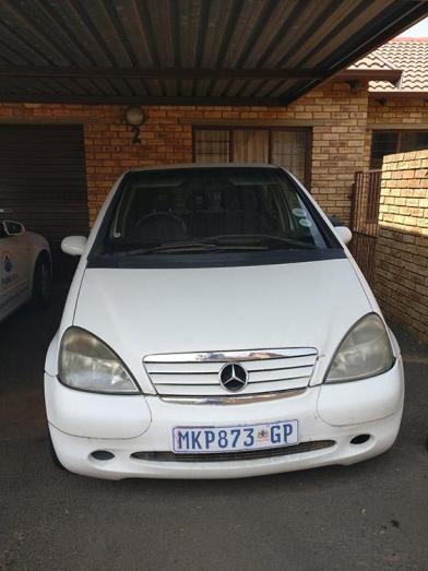 2001 Mercedes A160