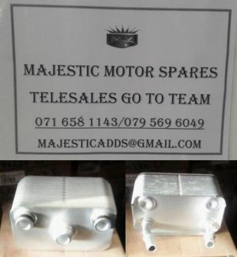 BMW E 53 x5 oil cooler for sale