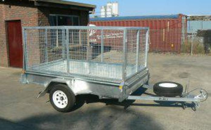 High Quality Galvanized Trailers For Sale
