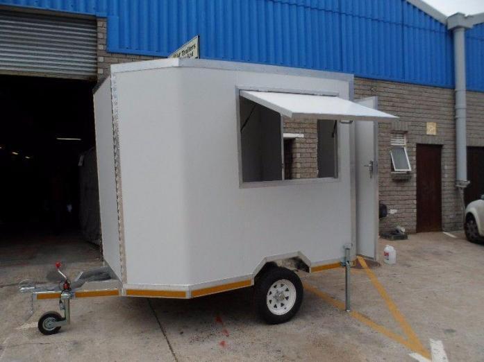 Mobile Food Kitchen Trailer for Sale