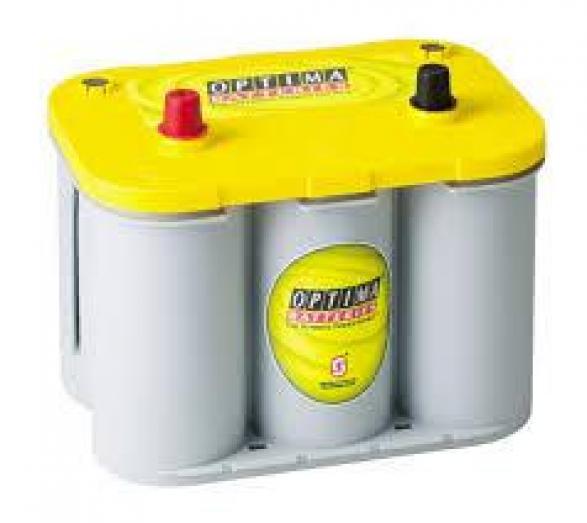 Optima Yellow Top 12v 75ah Battery R5558.00