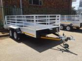 utility trailer double axle