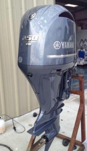 New Yamaha 250HP Outboard Motor