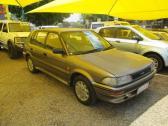 silver 1990 Toyota conquest