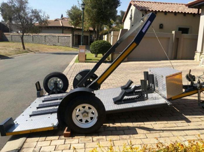 2018 Top Quality Motorbike Trailers Easy Loading for sale.