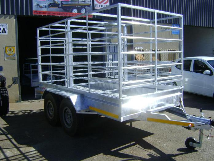 3.5/1.8 Cattle Trailers available