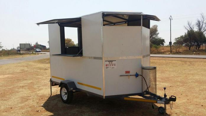 catering mobile kitchen and vending food trailers