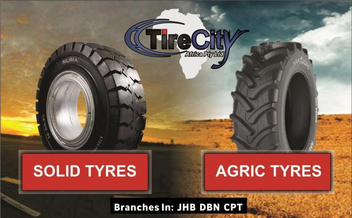 Importer / Dealer of:  Hyster Tyres, Forklift Tyres, Implement Tyres, solid tyres & more in port Elizabeth