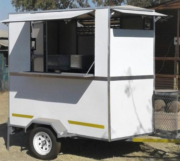 Brand New Fast food trailer s for sale - 2.4m, financing available
