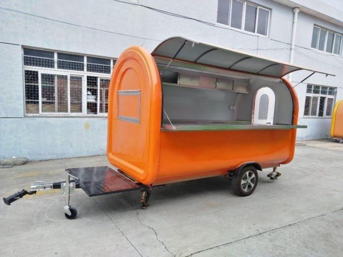 Custom Build 2.8M Mobile Catering Food Trailers