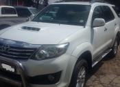 2011 Toyota Fortuner  3.0D-4D Heritage Edition automatic
