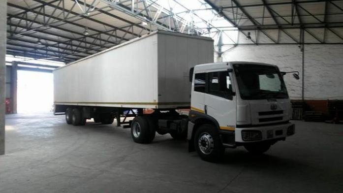 2013 FAW 16.240 Truck & Trailer