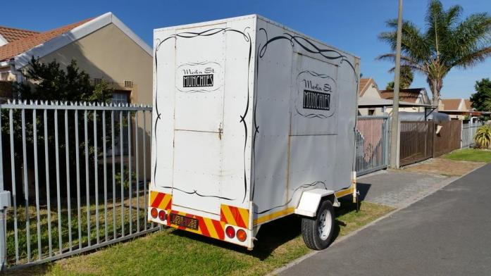 2013 Gladiatrix trailer box body - Food trailer