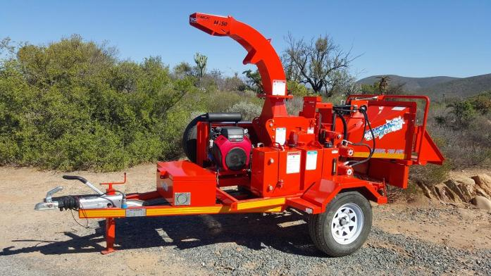 2017 TOMCAT Model 150 AFE Wood Chipper second-hand unit