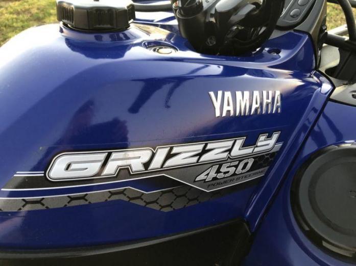 2016 Yamaha Grizzly 450 EPS 4x4 - Quad Bike