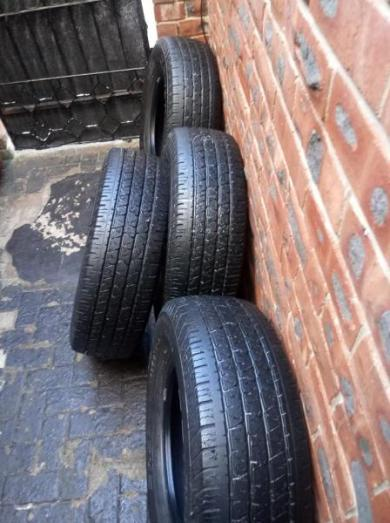 255/70R16 CONTINENTAL TYRES FOR SALE