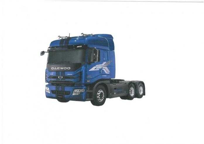 Come Test Drive The New Daewoo KL3TX 6X4 Truck  Tractor