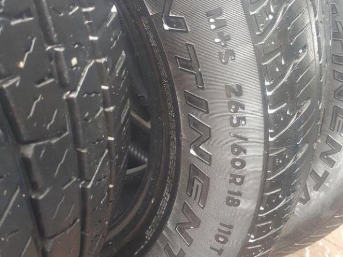FORD RANGER / HILUX OR FORTUNER / ISUZU BAKKIE TYRES - 18INCH TYRES AT A BARGAIN PRICE